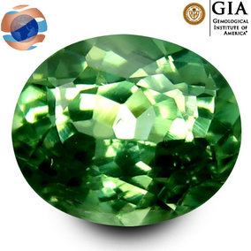 €500 GIA Certified Green Chrysoberyl 0.85CT