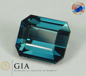 SOLD / GIA Certified 3.16 Indicolite Tourmaline